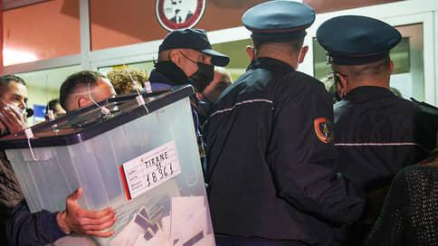 Албанские выборы стали экзаменом в ЕС  / Победителя объявят с задержкой в 48 часов