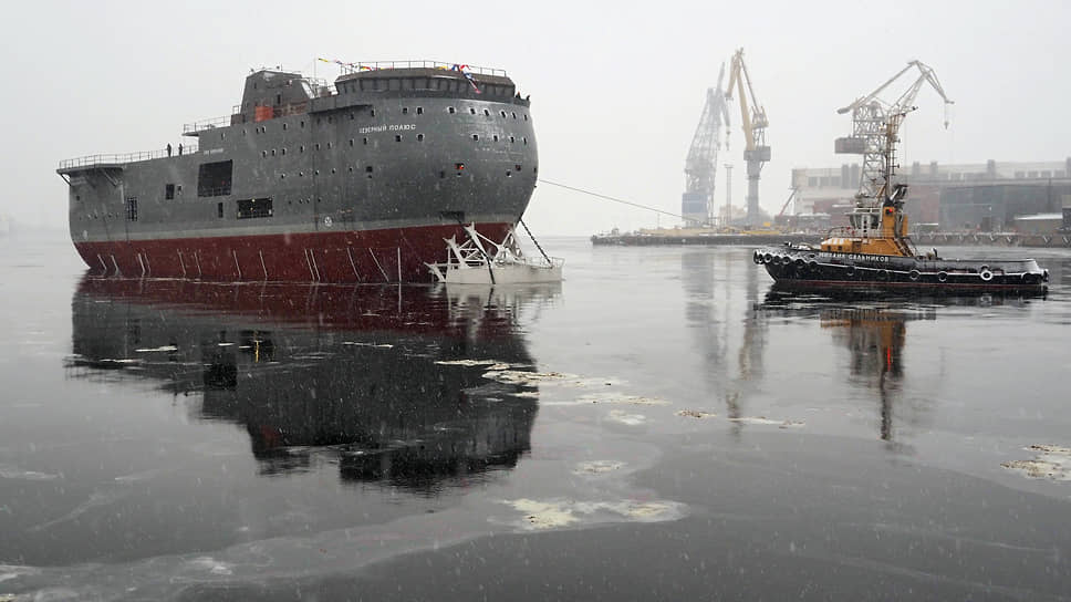 Ледостойкая самодвижущаяся платформа «Северный полюс»