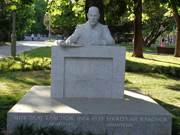 «Архитектор Краснов удивительный молодец» (Николай II, император всероссийский, из письма матери 21 сентября 1911 года). На фото – памятник Николаю Краснову в Белграде