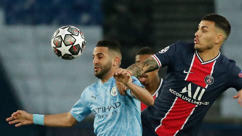 «Манчестер Сити» подбирается к финалу  / Он одолел ПСЖ в первой встрече полуфинала Лиги чемпионов