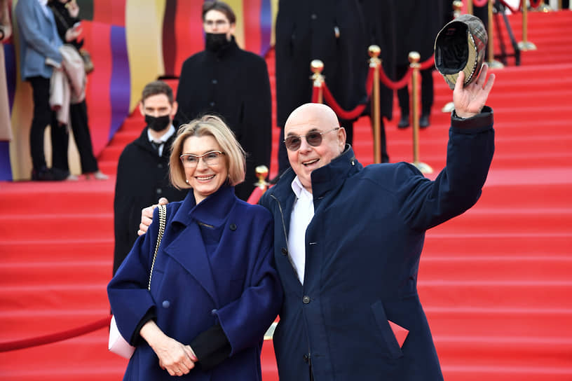 Актер Владимир Долинский с супругой Ириной