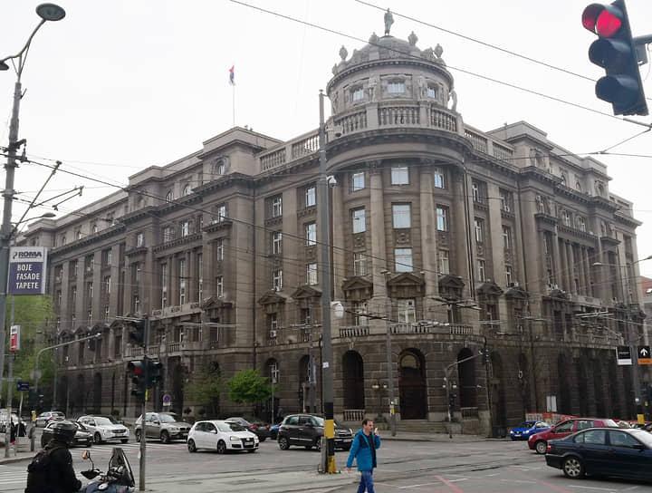 Здание министерства лесного, горнорудного, сельского и водного хозяйства было построено по проекту Николая Краснова в 1926-1929 годах. В момент постройки было одним из самых крупных зданий Белграда. В настоящее время здание занимает министерство иностранных дел Сербии