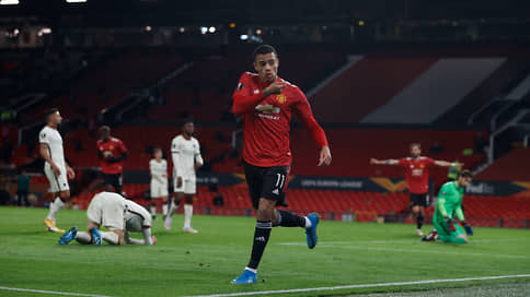 «Манчестер Юнайтед» победил по-теннисному  / В первой встрече 1/2финала Лиги Европы он разгромил «Рому»