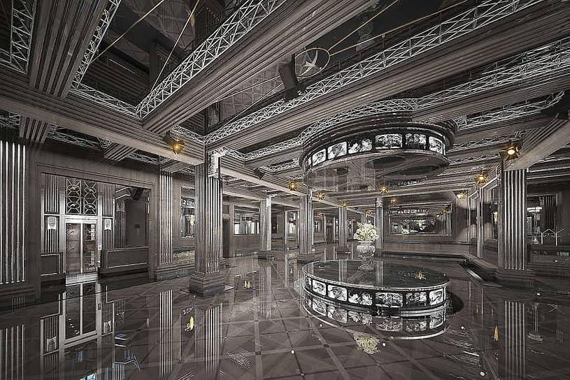 Дизайн-проект ремонтно-реставрационных работ в Центре театра и кино на Поварской от АО «ГК ЕКС»