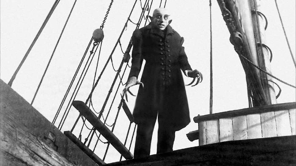 Кадр из фильма «Носферату, симфония ужаса». 1922 год