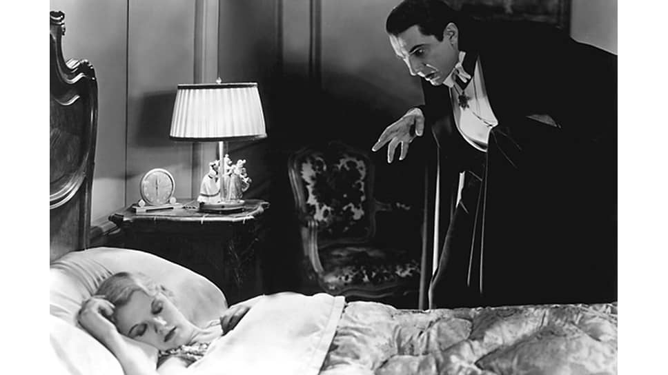 Кадр из фильма «Дракула». 1931 год