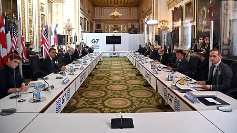 Российскую угрозу поделили на семь  / Страны G7 не пошли на конфликт с Москвой