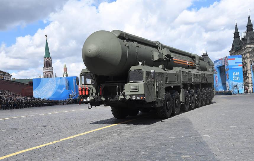 Самоходная пусковая установка подвижного грунтового ракетного комплекса «Ярс»