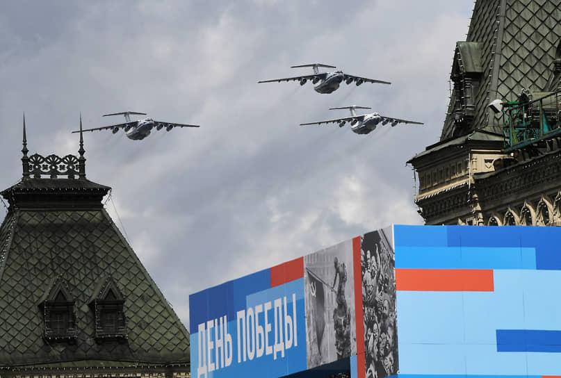 Тяжелые транспортные самолеты Ил-76