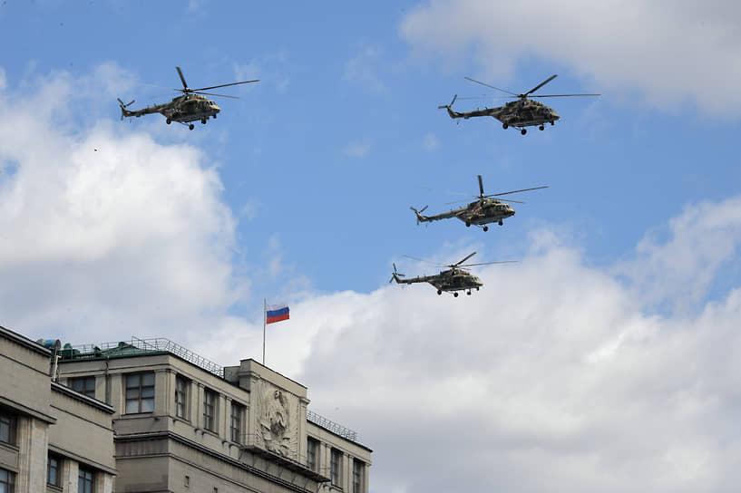 5 мая в Москве прошла репетиция воздушной части парада Победы