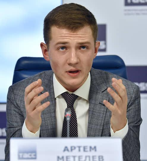 Глава совета ассоциации волонтерских центров Артем Метелев