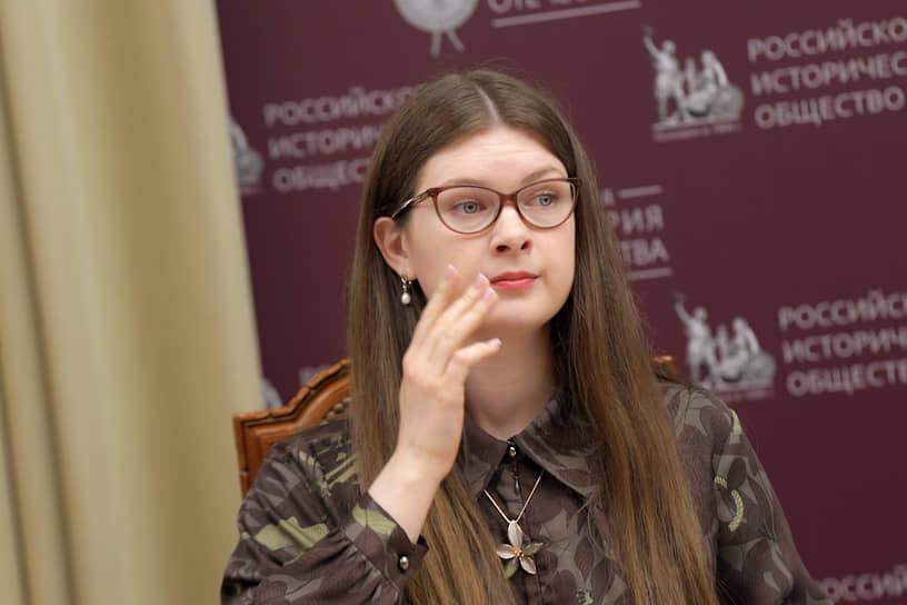 Глава центрального штаба движения «Волонтеры победы» Ольга Амельченкова