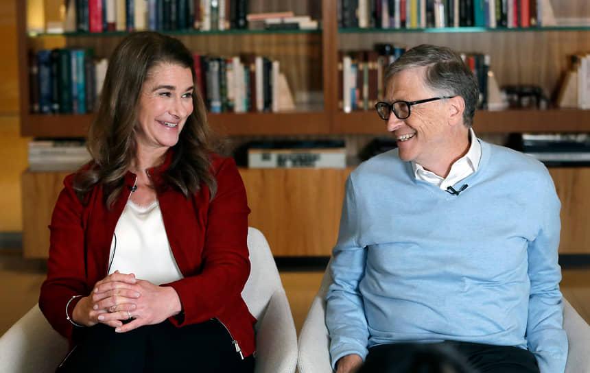 Билл Гейтс и Мелинда Френч. 2019 год