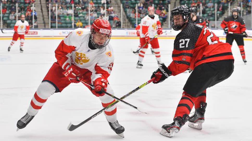 Российским хоккеистам не повезло с Канадой