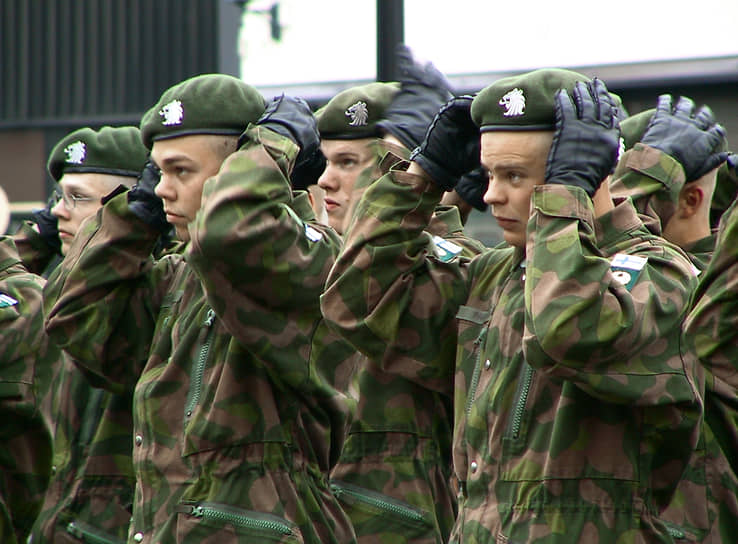 Солдаты финской армии