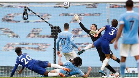 Синие не дали голубым  / стать чемпионами Англии