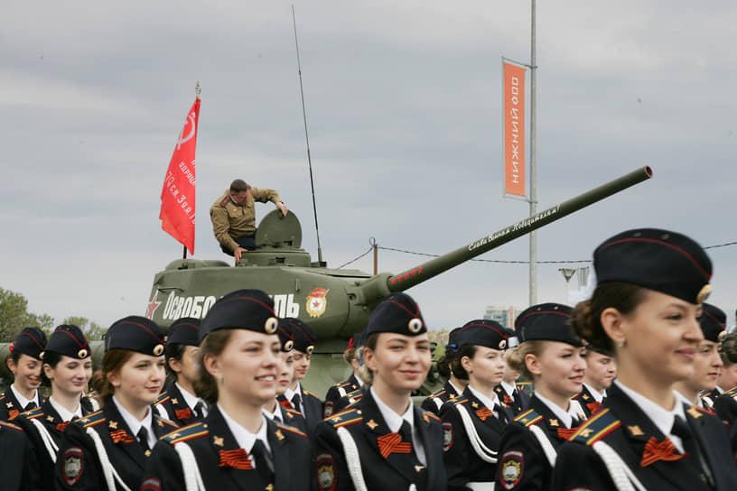 Нижний Новгород. Парад Победы