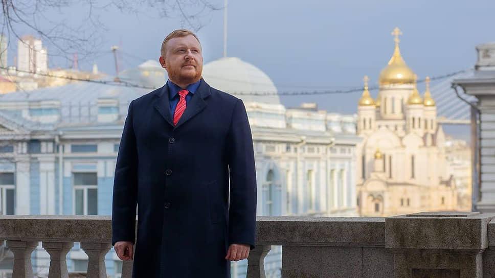 Экс-кандидат в губернаторы Приморского края Андрей Ищенко