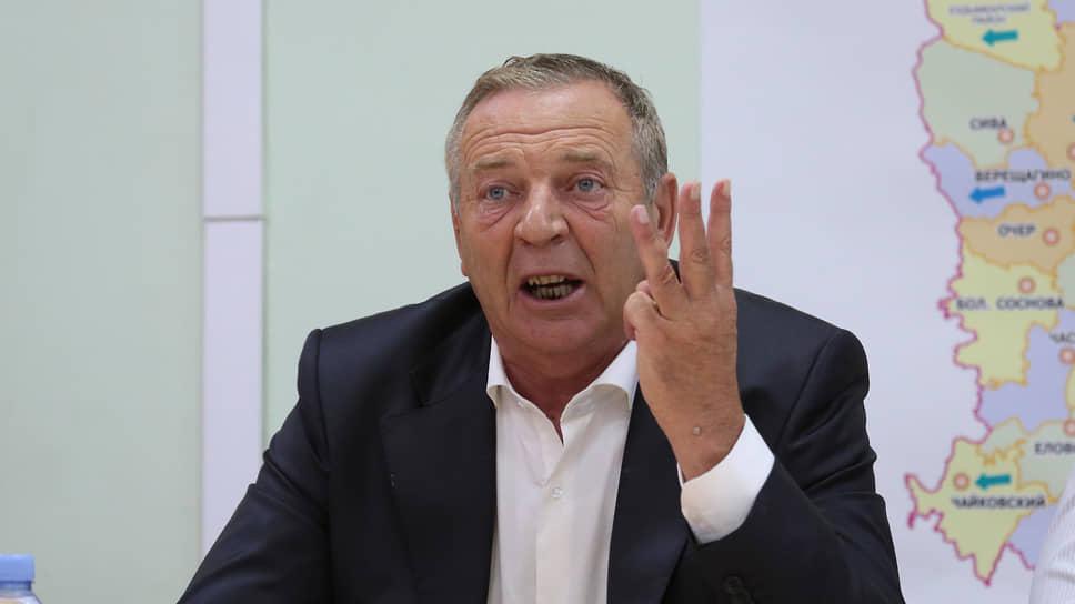 Бизнесмен и политик Александр Репин