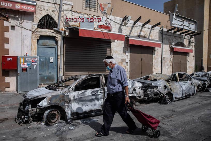 В израильском Лоде (на фото) было введено чрезвычайное положение