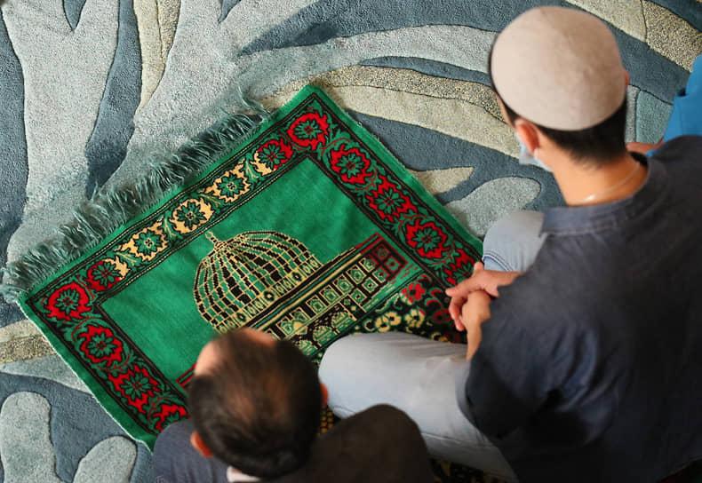 Курбан-байрам в казанской мечети «Ирек»