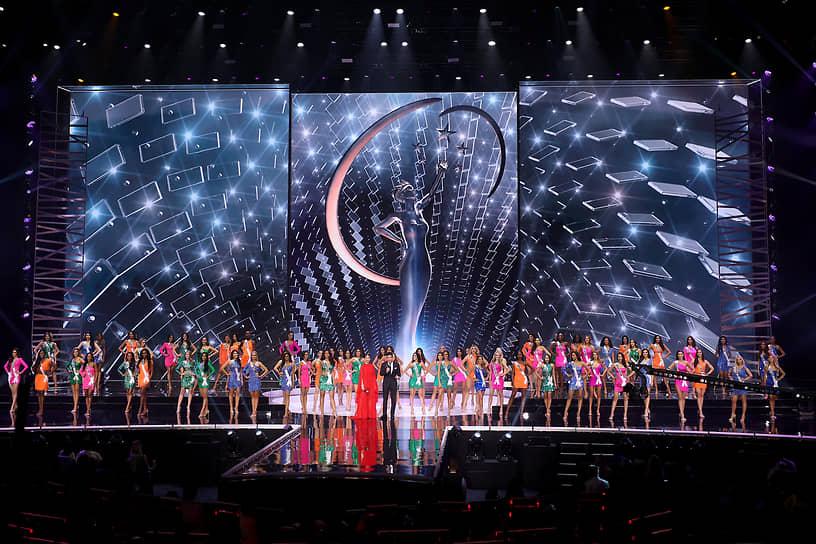 Участницы конкурса «Мисс Вселенная—2021»