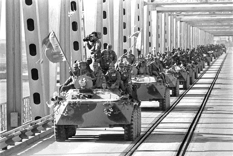 Афганское ветеранское движение в СССР было основано в 1984 году в городе Ухта (Коми АССР), за четыре года до вывода советских войск из Афганистана (на фото)
