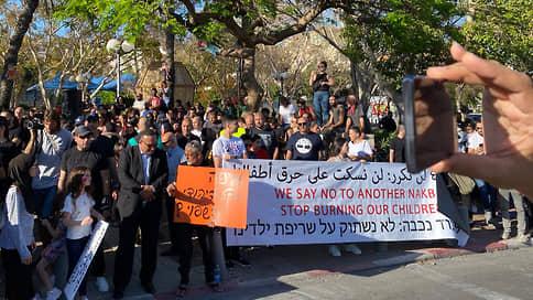 А рабы не мы  / Акции протеста прокатились по всей Палестине, но их поддержали не все