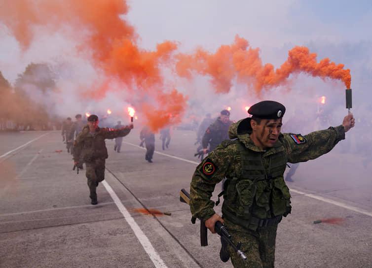 Калининградская область, Россия. Празднование Дня Балтийского флота