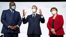 Париж подключился к спасению африканской экономики  / Эмманюэль Макрон принял гостей саммита «Франция—Африка»
