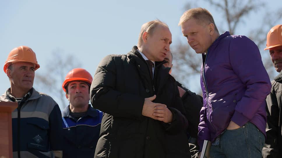 Случается президент лично комментирует события спецкору «Коммерсанта»