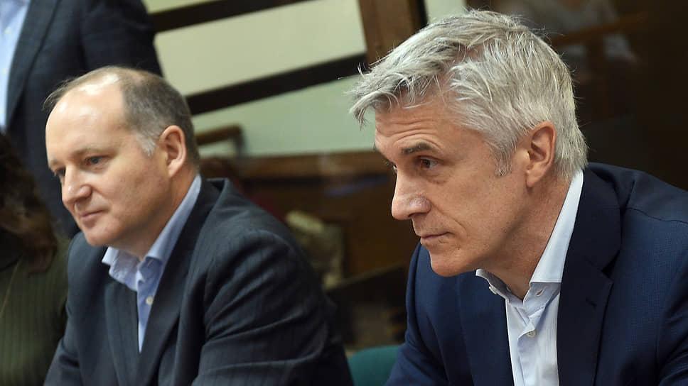 Основатель фонда Baring Vostok американец Майкл Калви (справа) и его партнер Филипп Дельпаль