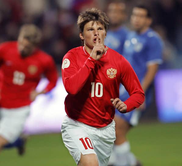 Аршавин вошел в состав символической сборной чемпионата Европы 2008 года по версии Союза европейских футбольных ассоциаций