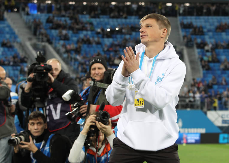 С августа 2020 года Аршавин занимает в «Зените» должность директора департамента развития молодежного футбола по спортивным вопросам