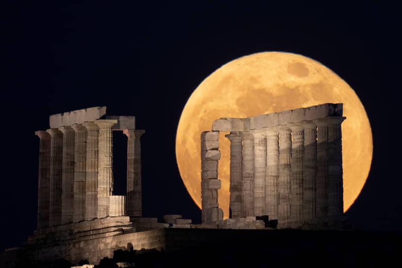 Мыс Сунион, Греция. Храм Посейдона