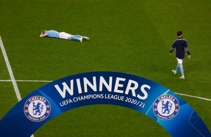 Футболист «Манчестер Сити» Александр Зинченко после поражения его команды