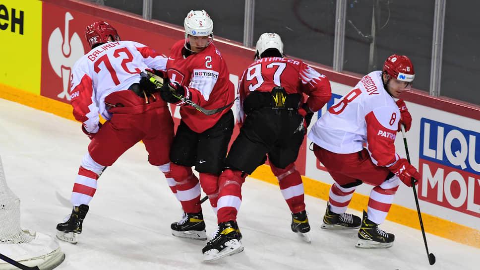 Сборная России сыграла на победу в группе