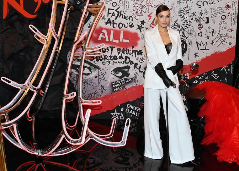Телеведущая Алена Водонаева на премьере фильма «Круэлла» в кинотеатре «Художественный»
