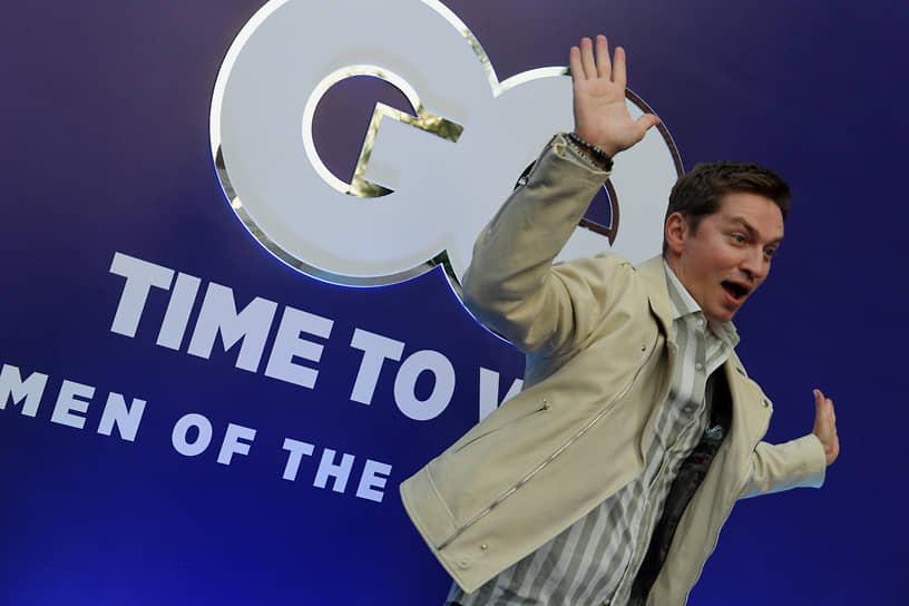 Главный редактор журнала GQ Игорь Гаранин на коктейле, посвященном старту голосования за претендентов на звание «GQ Человек года-2021»