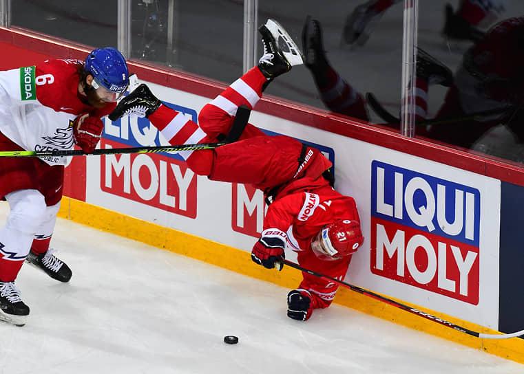 21 мая. Рига, Латвия. Матч между сборными России и Чехии