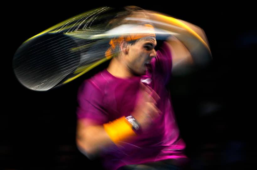 В 2008 году в Пекине Рафаэль Надаль стал олимпийским чемпионом по теннису в мужском одиночном разряде