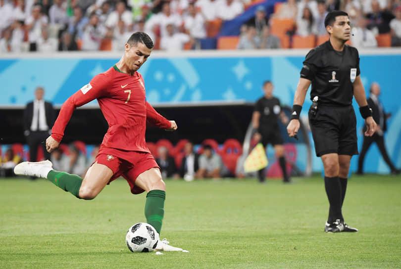 Португалец Криштиану Роналду — 136 забитых пенальти