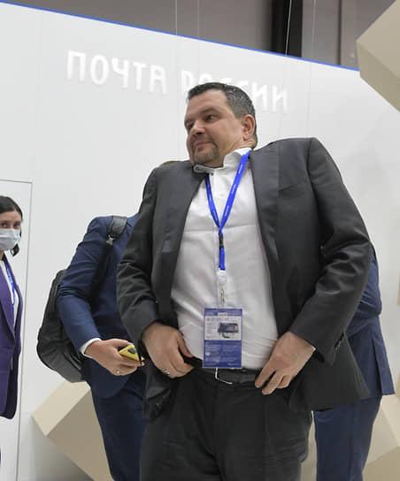 Генеральный директор АО «Почта России» Максим Акимов во время форума