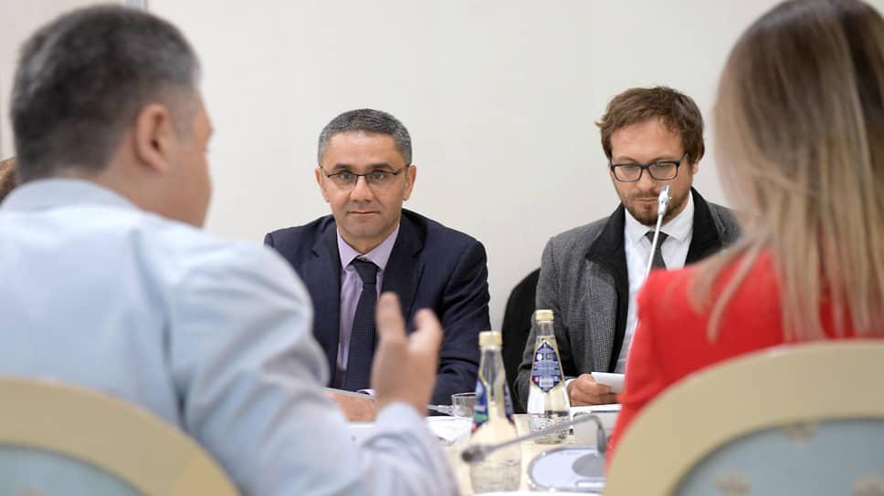 Встреча членов Общественной палаты России и миссии по оценке потребностей БДИПЧ ОБСЕ в Общественной палате России
