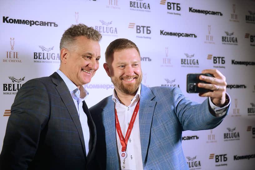 Генеральный директор телеканала «Санкт-Петербург» Александр Малькевич (справа)