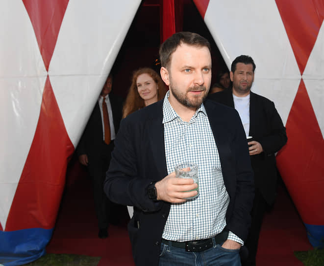 Помощник президента России Максим Орешкин на вечеринке «Яндекса» «The Circus»