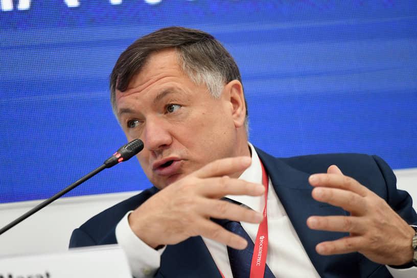 Заместитель председателя правительства России Марат Хуснуллин