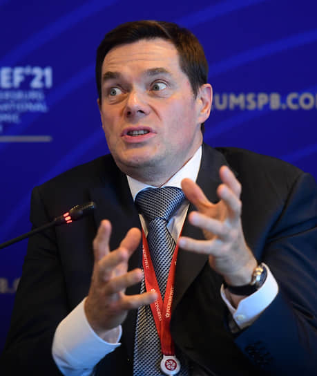 Генеральный директор ООО «Севергрупп» Алексей Мордашов на форуме