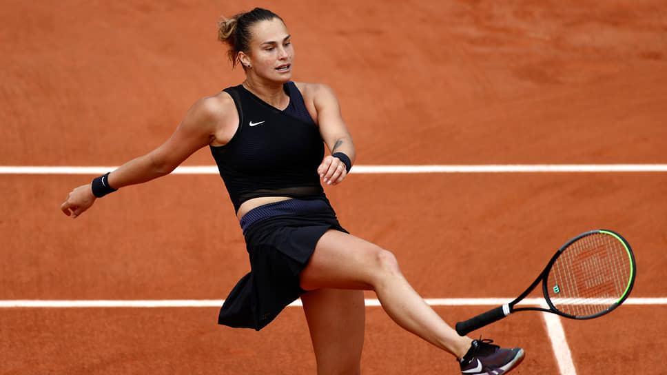 Теннисистка Арина Соболенко