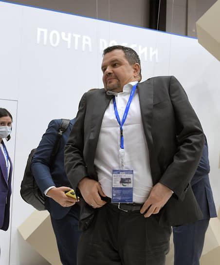Санкт-Петербург. Генеральный директор АО «Почта России» Максим Акимов на ПМЭФ